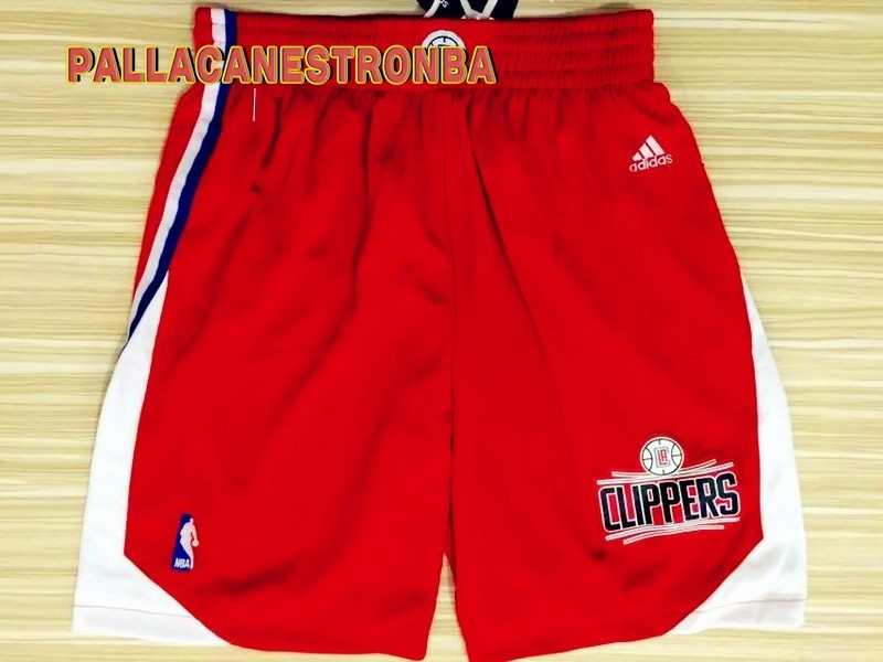Offerte Pantaloni Basket Los Angeles Clippers Rosso